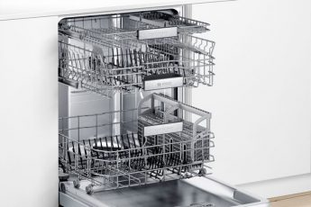 How to load third rack in Bosch dishwasher