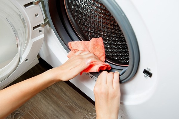 how to clean Samsung front load washer