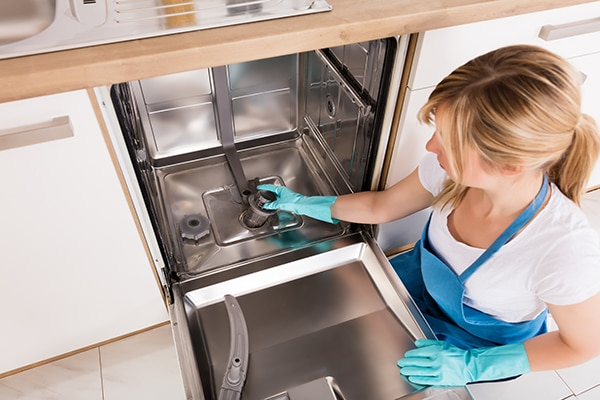 dishwasher smells bad