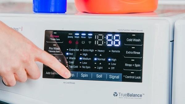 LG washer isn't spinning