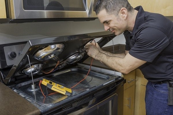 electric stove heating element not working